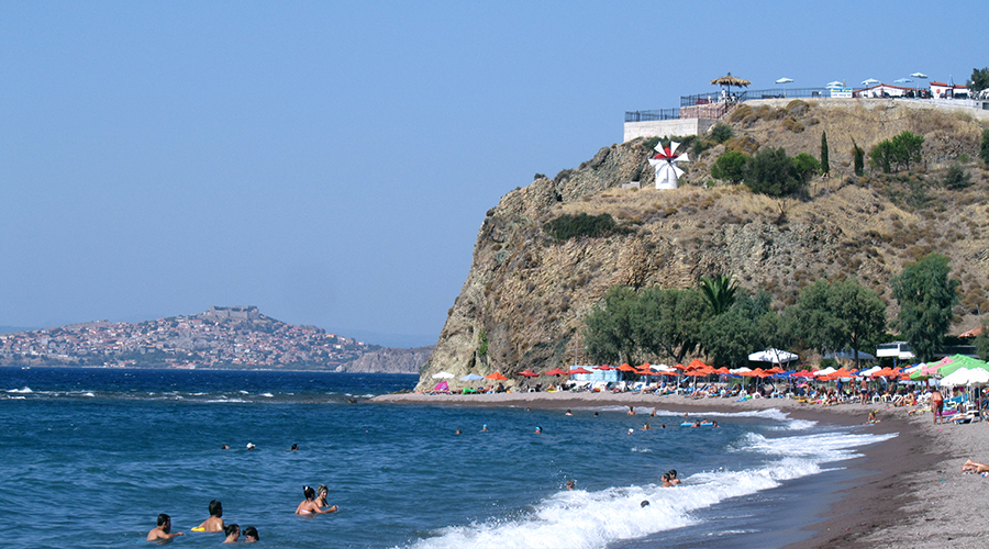 Anaxos beach