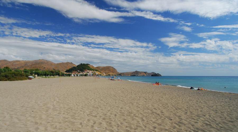 Eressos beach