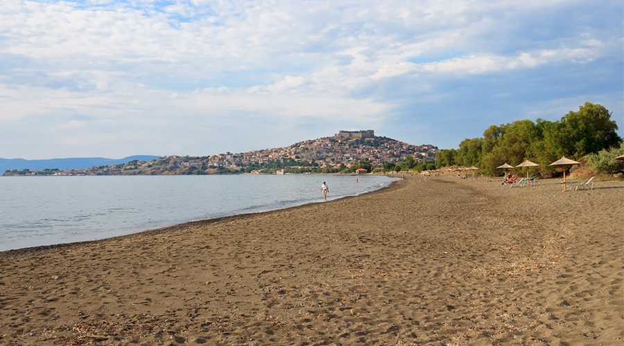 Molyvos beach