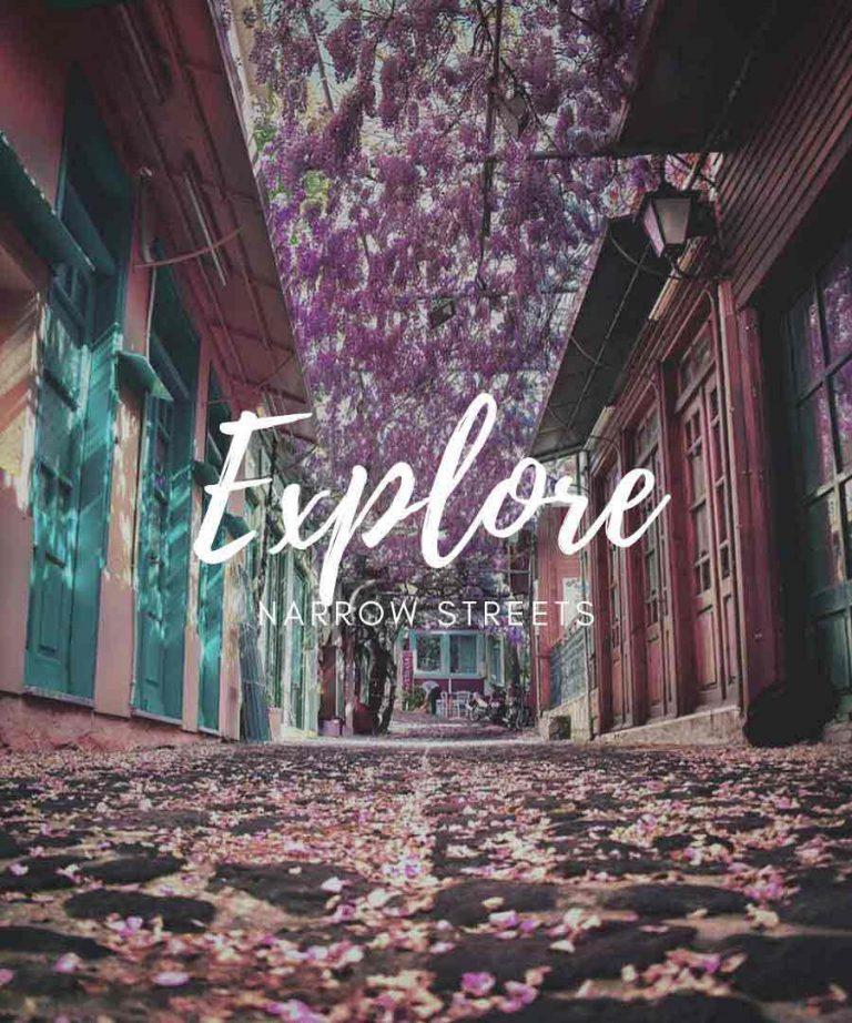 Explore Molyvos | Village Train